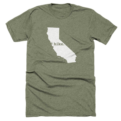 California Hike Home T-Shirt