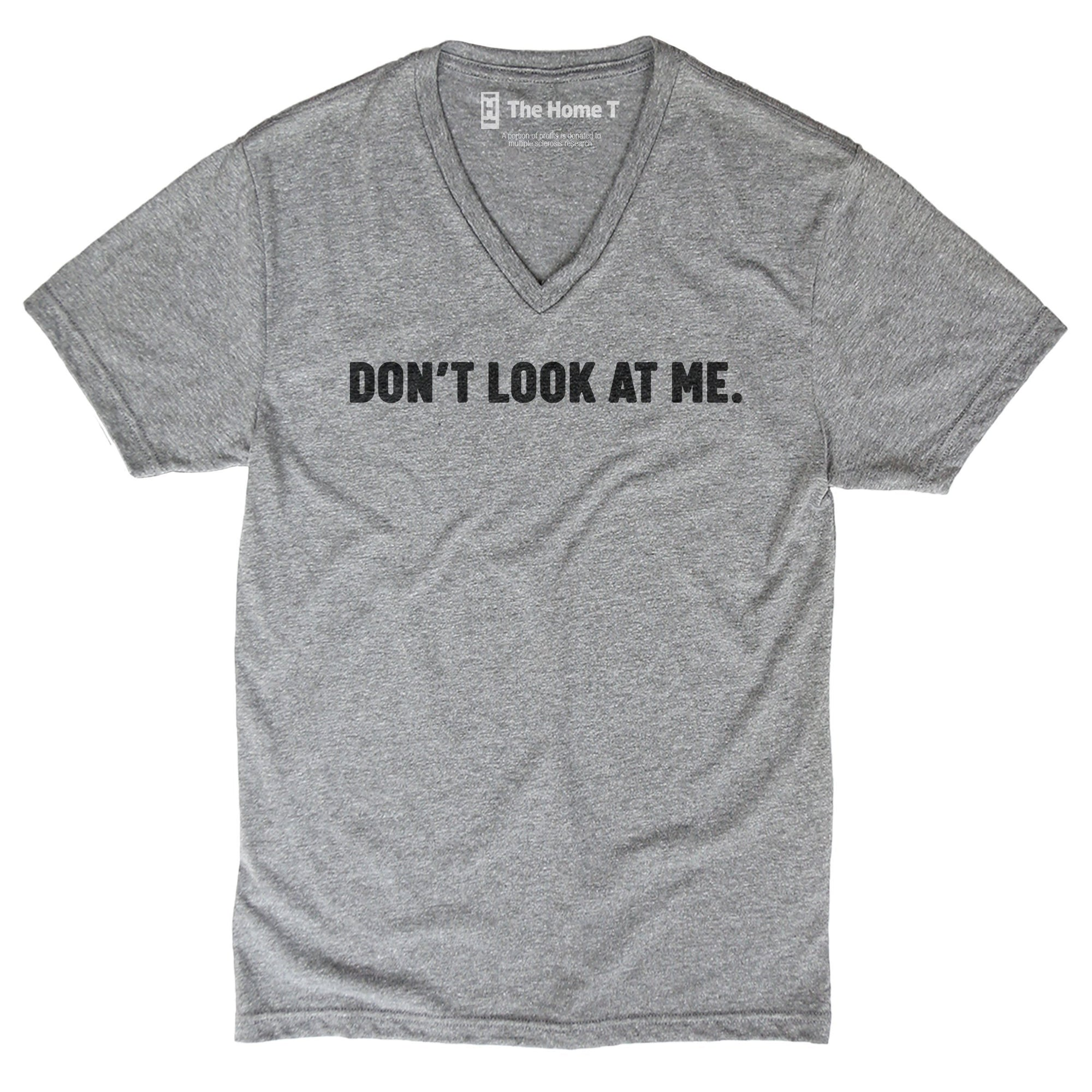 Don't look at me athletic grey crewneck