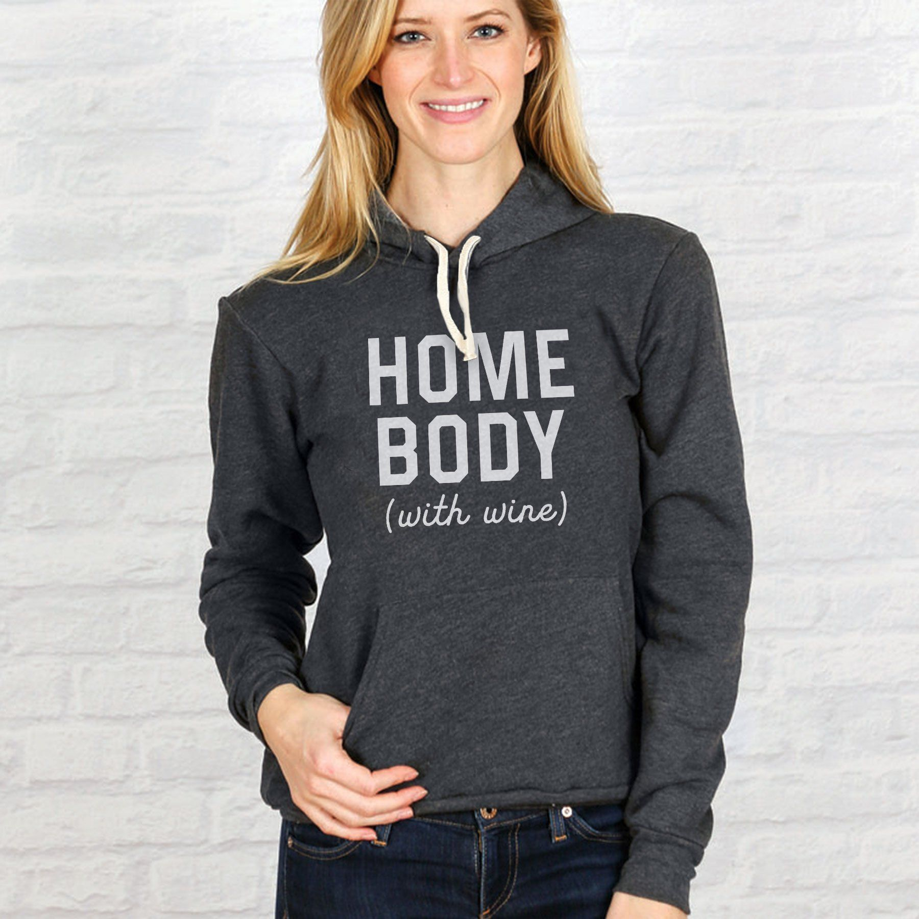 HOME BODY WITH WINE HOODIE