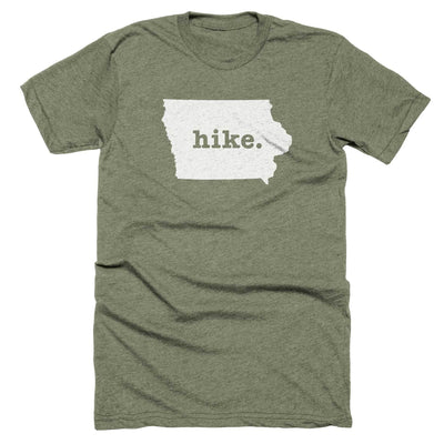 Iowa Hike Home T-Shirt