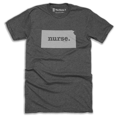 Kansas Nurse Home T-Shirt