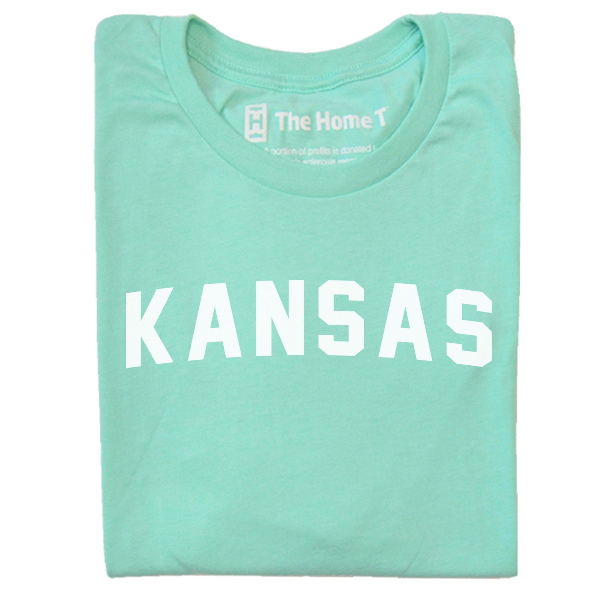 Kansas Arched The Home T XS Mint