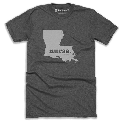 Louisiana Nurse Home T-Shirt