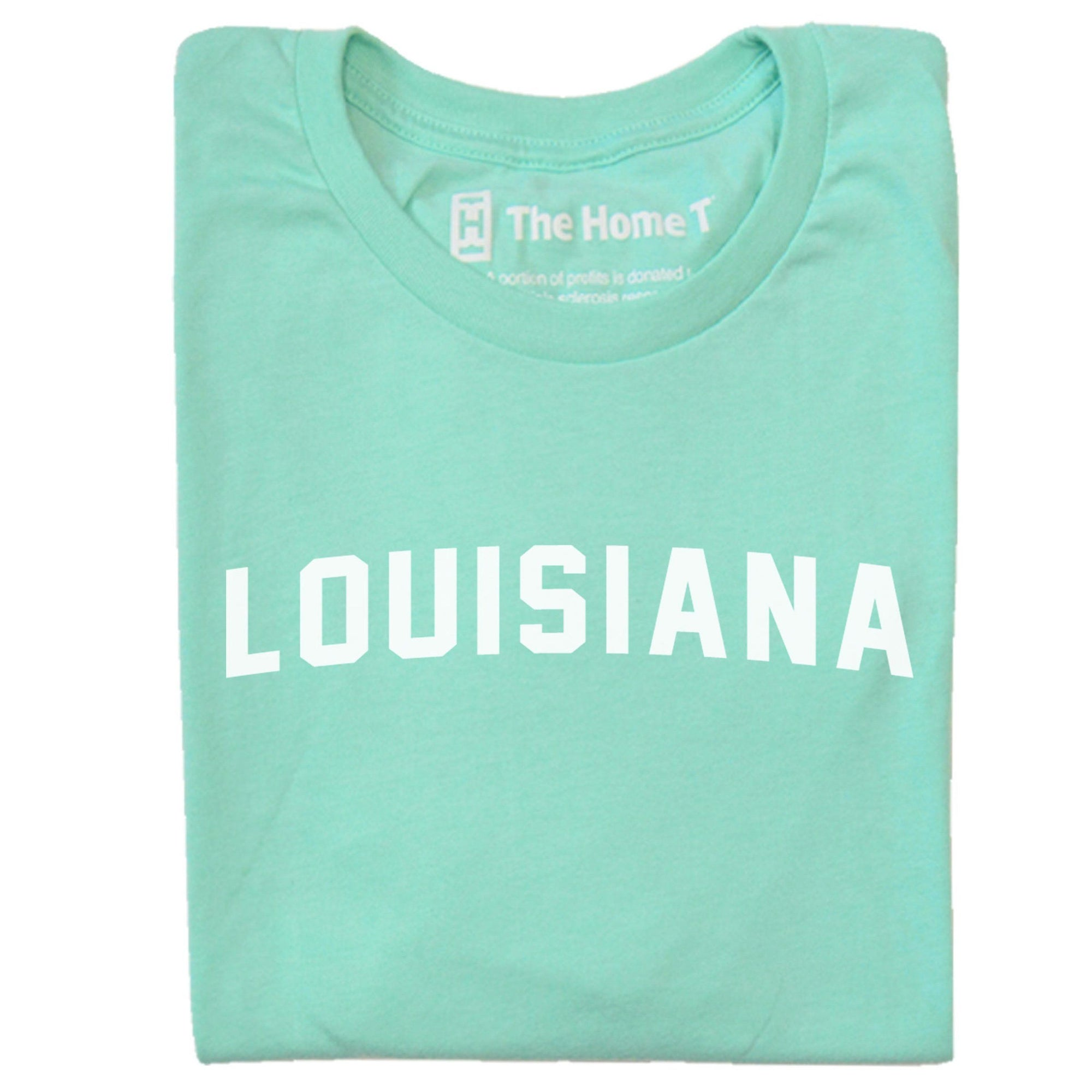 Louisiana Arched The Home T XS Mint