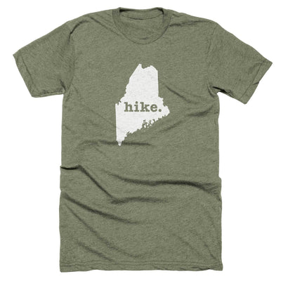 Maine Hike Home T-Shirt