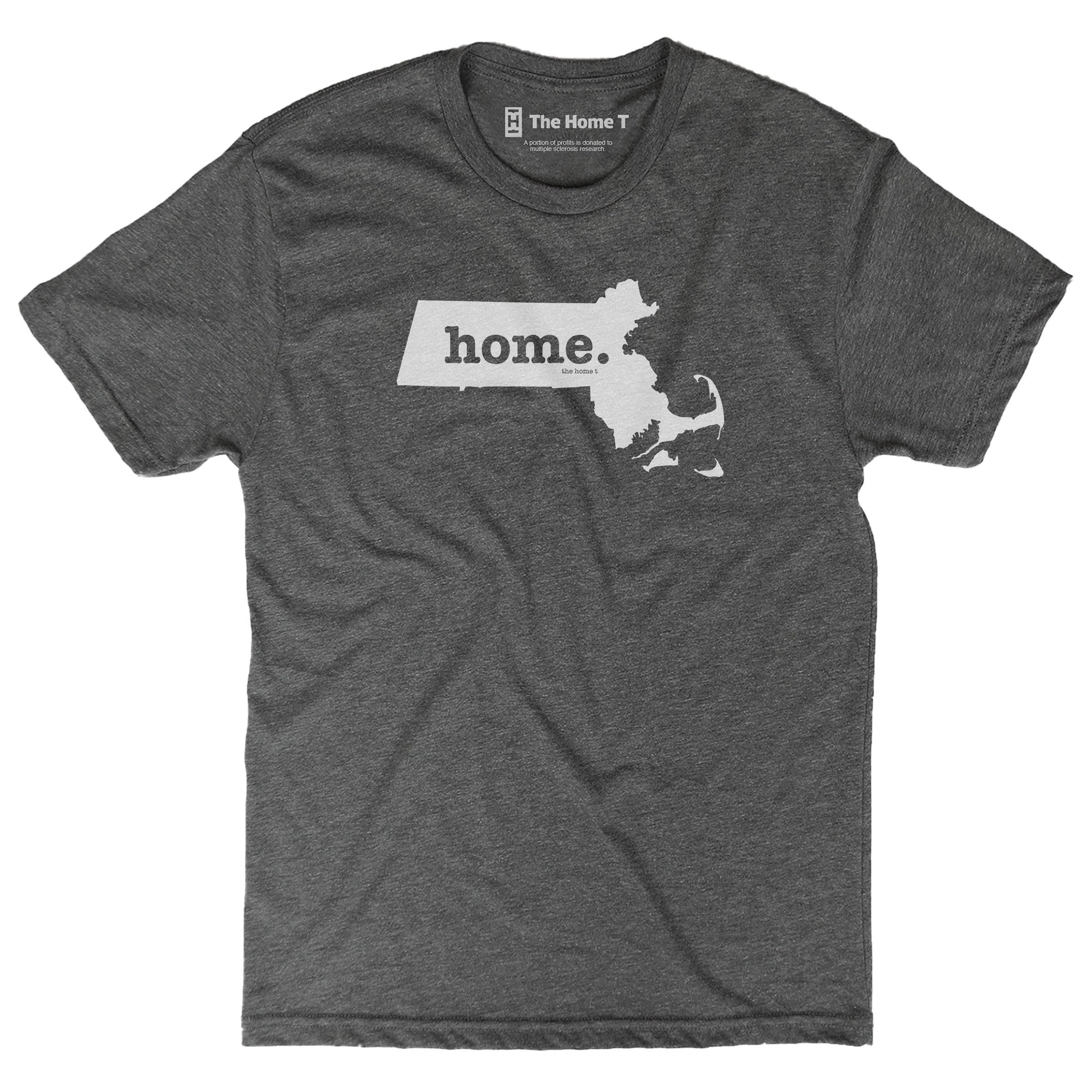 Massachusetts Home T Original Crew The Home T XXL Grey