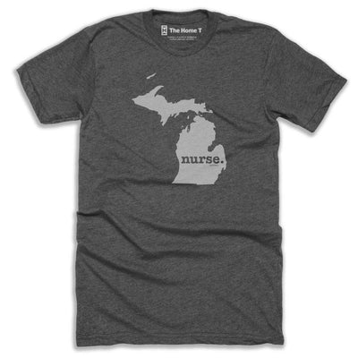 Michigan Nurse Home T-Shirt