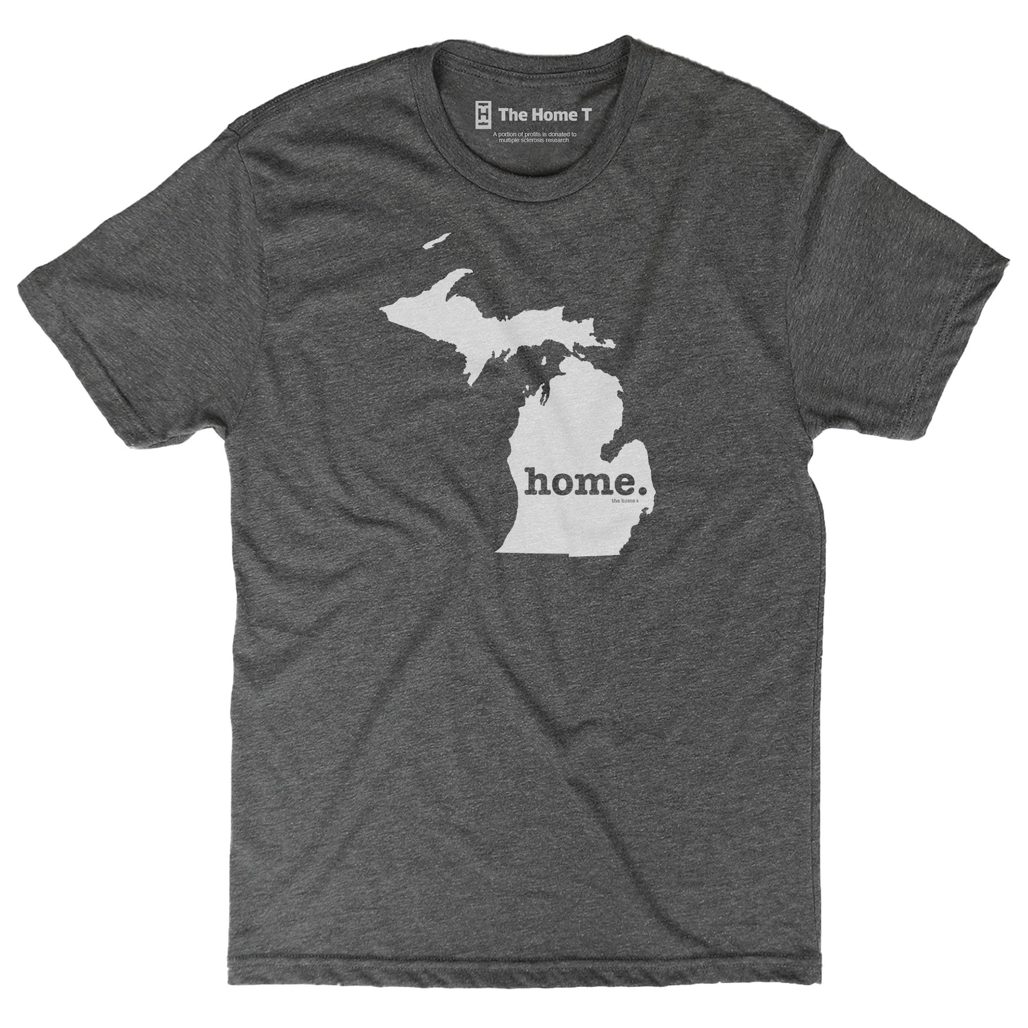 Michigan Home T Original Crew The Home T XXL Grey