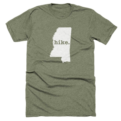Mississippi Hike Home T-Shirt