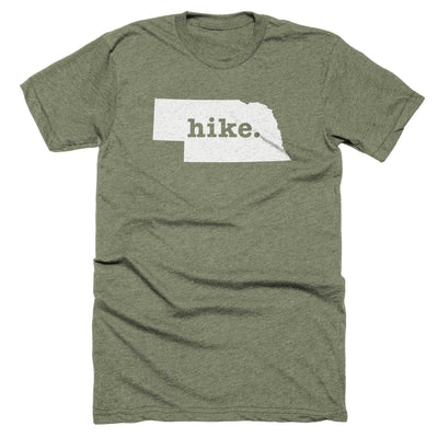 Nebraska Hike Home T-Shirt