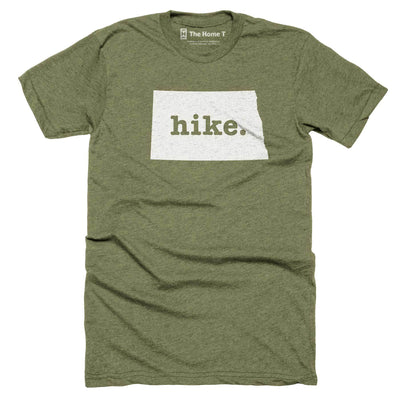 North Dakota Hike Home T-Shirt