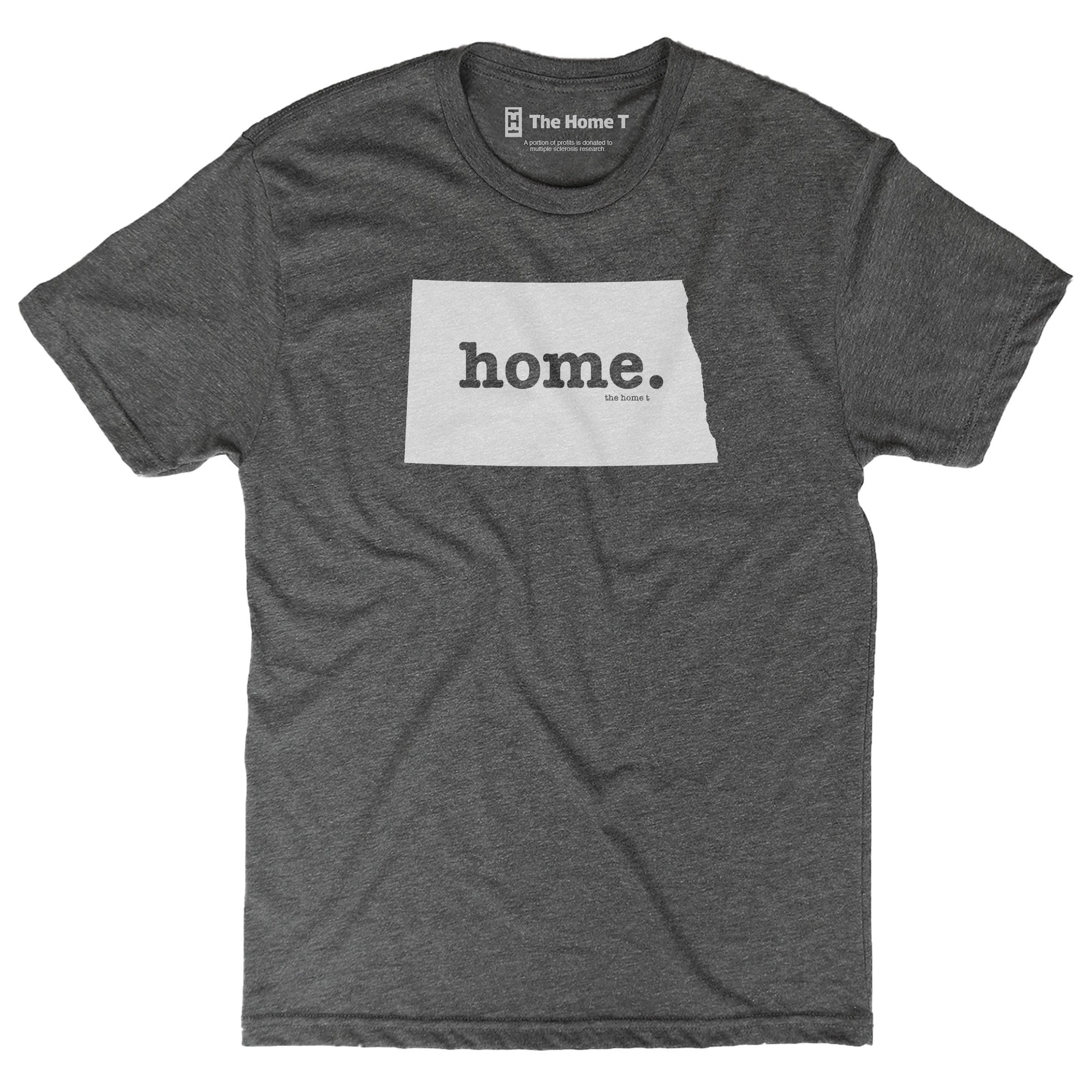North Dakota Home T Original Crew The Home T XXL Grey