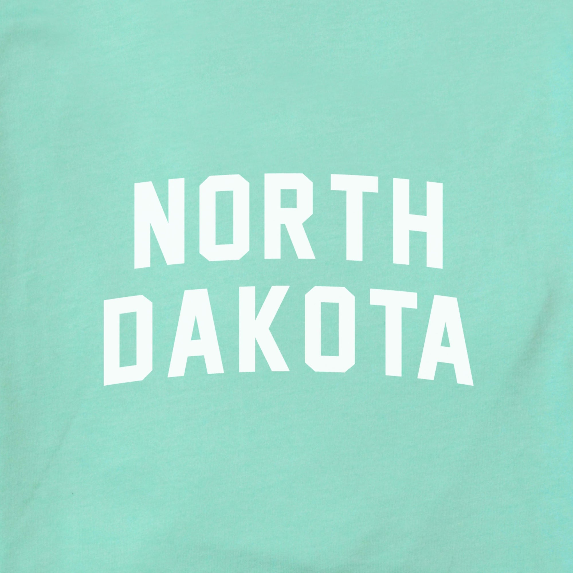 North Dakota Arched The Home T XS Mint