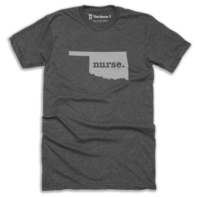 Oklahoma Nurse Home T-Shirt