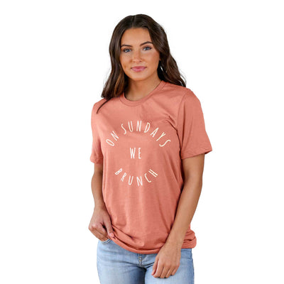 On Sundays We Brunch Lifestyle The Home T S Coral