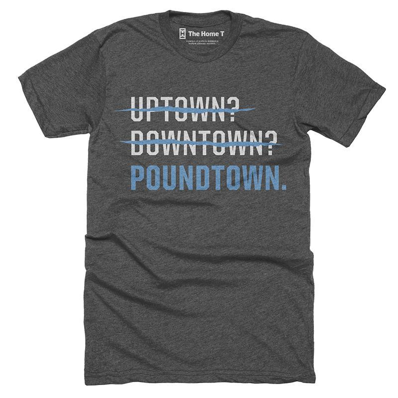 Poundtown Panthers Football T-shirt - The Home T. 55a2bf025