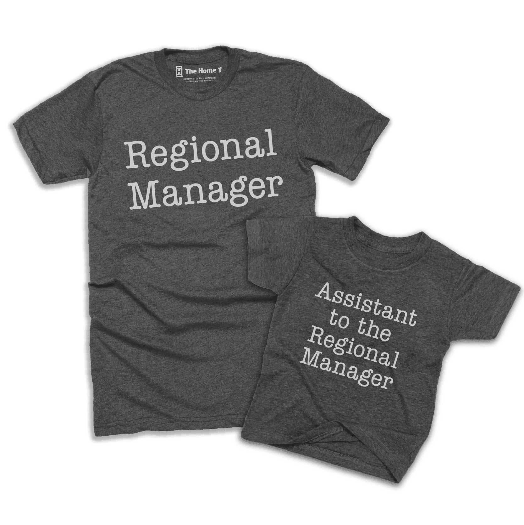 Regional Manager & Assistant to the Regional (Matching Set)