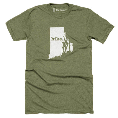 Rhode Island Hike Home T-Shirt