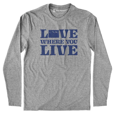 Colorado Love Where You Live Crew Neck The Home T XS Long Sleeve