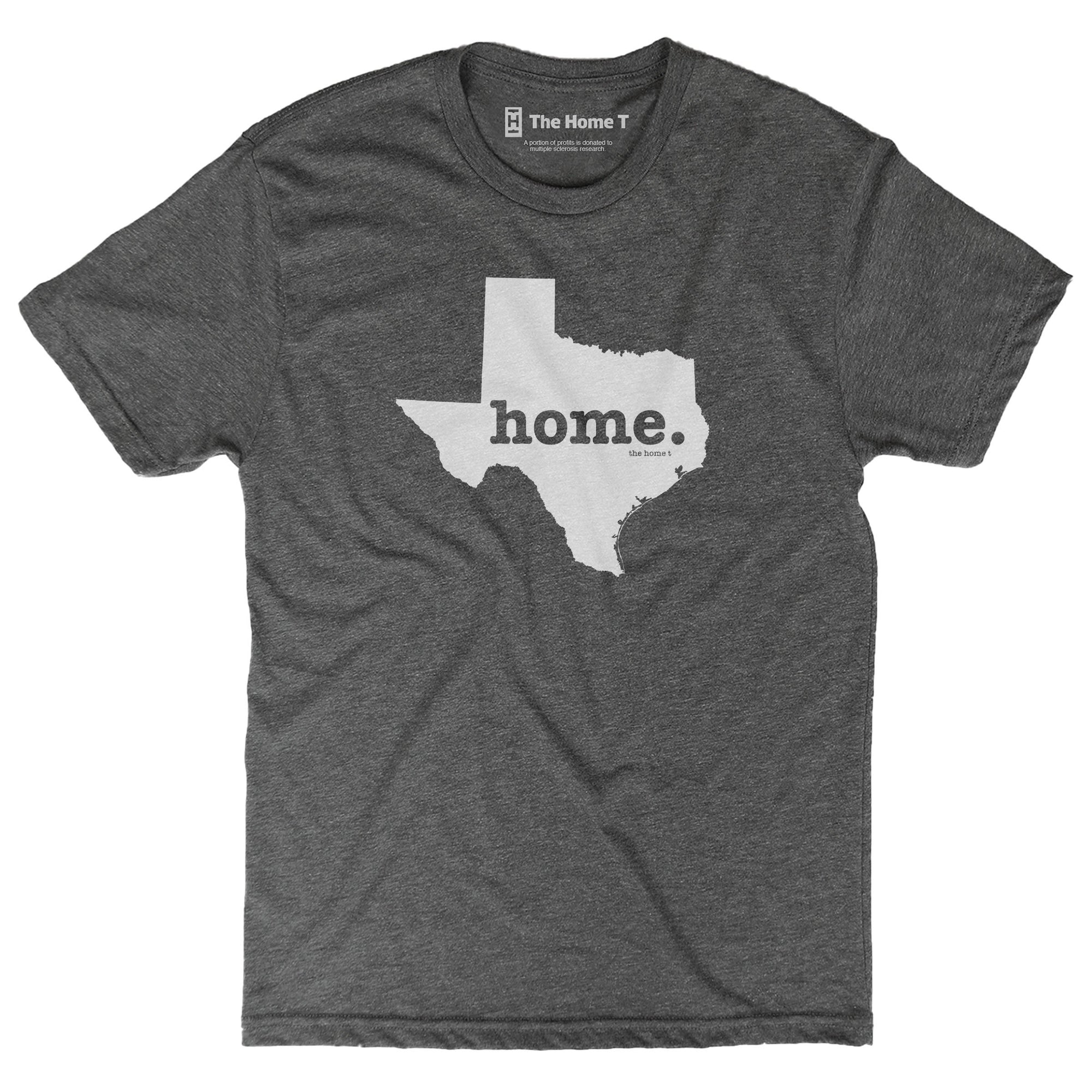 Texas Home T-shirt Original Crew The Home T XS Dark Grey