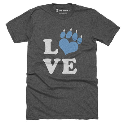 Love Print - Panthers Football T-shirt