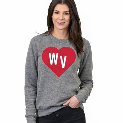 West Virginia Red Heart