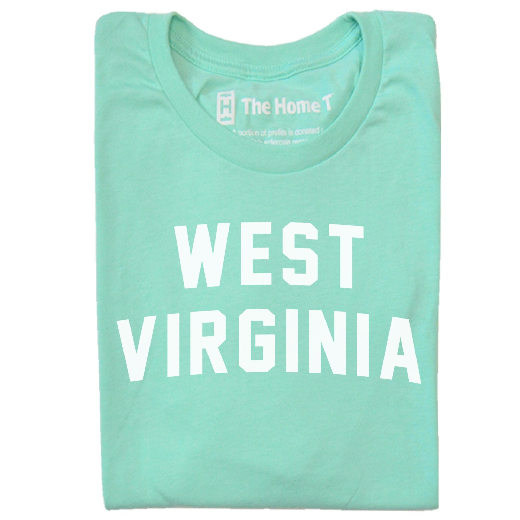West Virginia Arched The Home T XS Mint