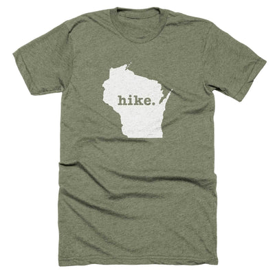 Wisconsin Hike Home T-Shirt