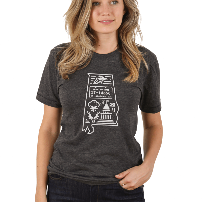 Alabama Clothing and Apparel - The Home T