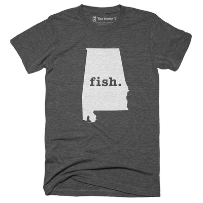 Alabama Fish Home T-Shirt