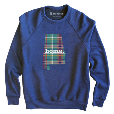 Alabama Limited Edition Green Plaid Green Plaid The Home T XS Sweatshirt
