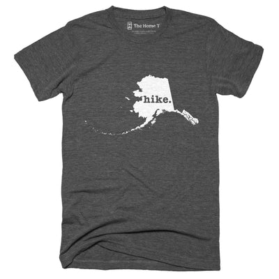 Alaska Hike Home T-Shirt Outdoor Collection The Home T XXL Grey