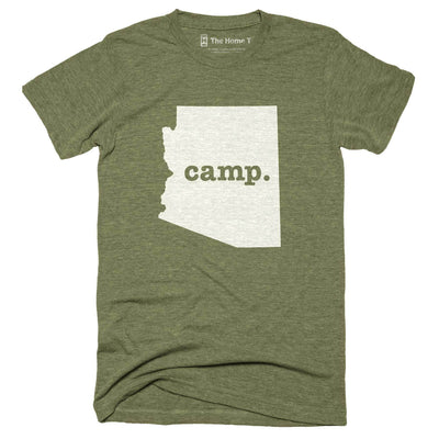 Arizona Camp Home T-Shirt Outdoor Collection The Home T XXL Army Green