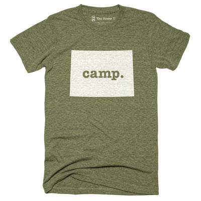 Colorado Camp Home T-Shirt Outdoor Collection The Home T XXL Army Green