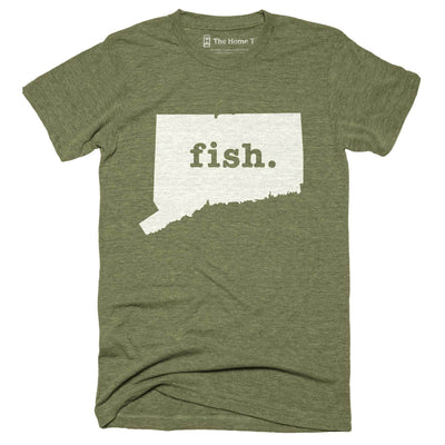 Connecticut Fish Home T-Shirt