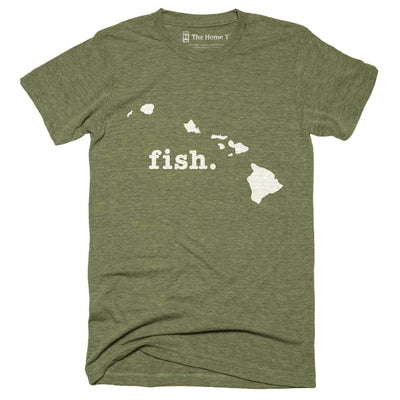 Hawaii Fish Home T-Shirt