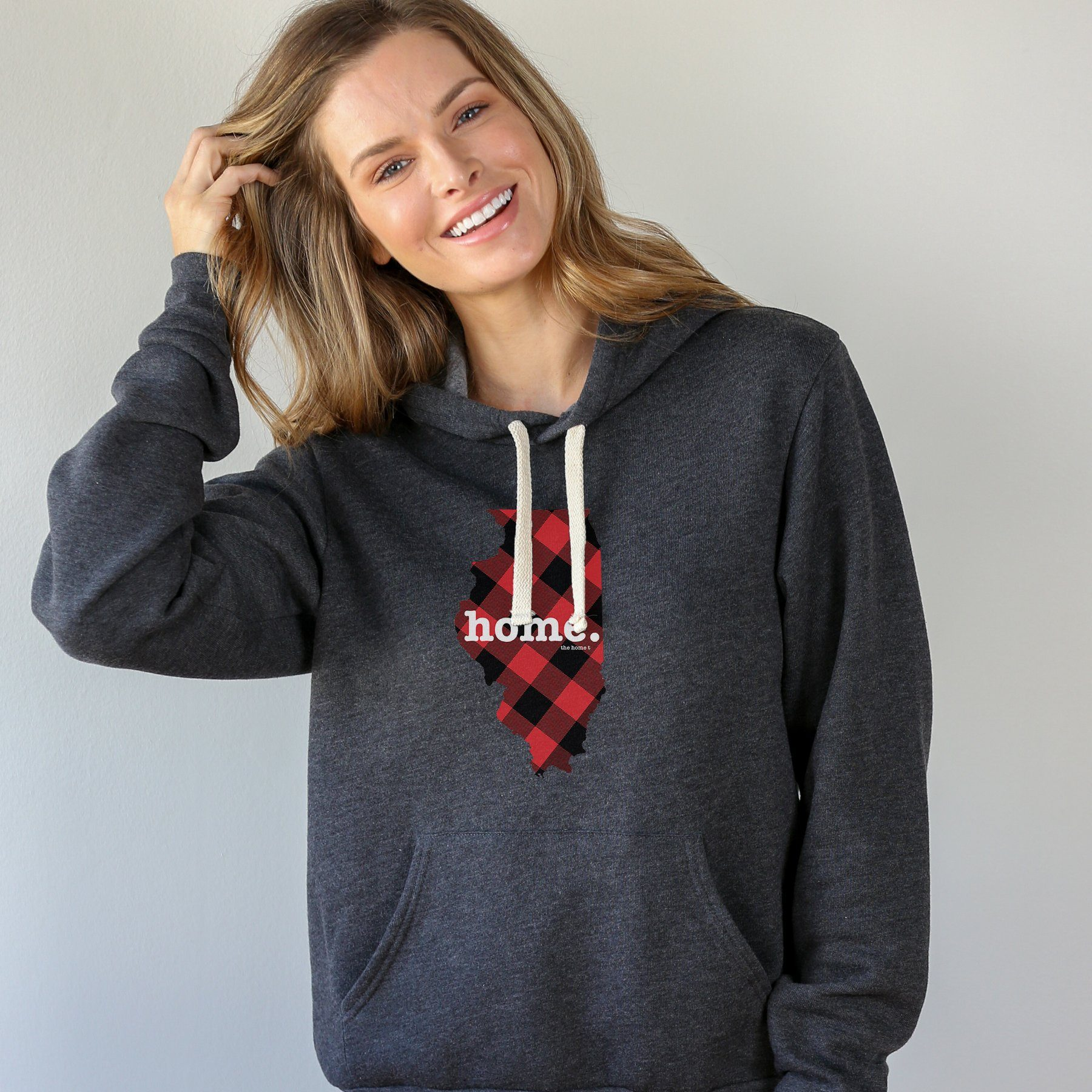 Illinois Plaid Limited Edition Hoodie