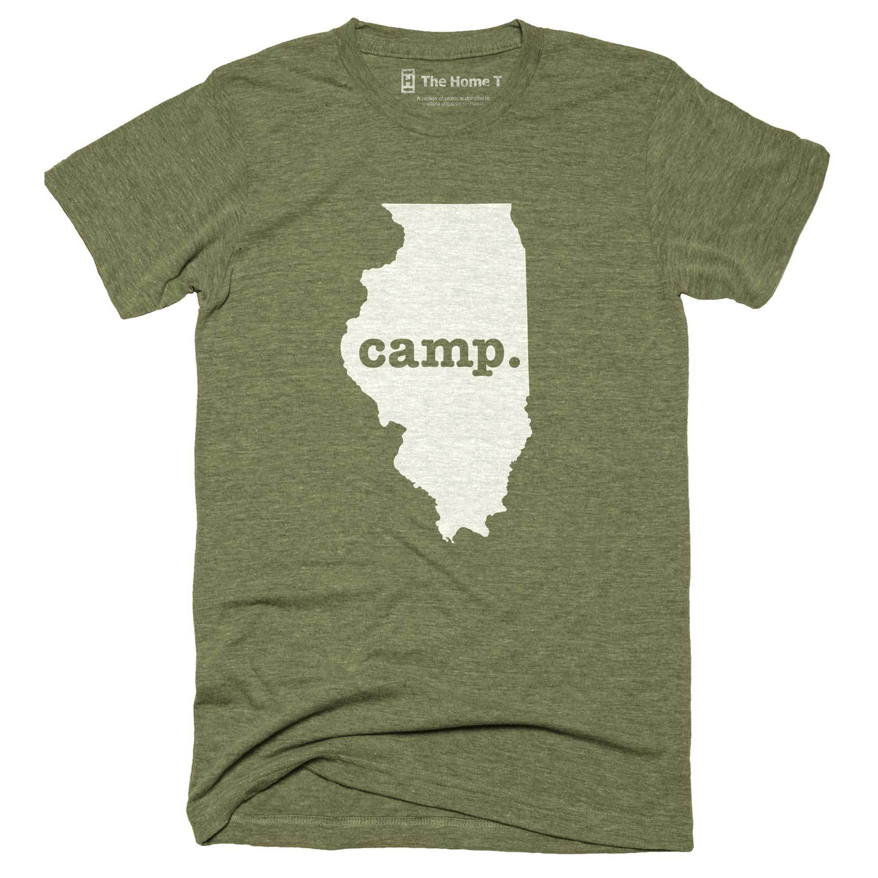 Illinois Camp Home T-Shirt