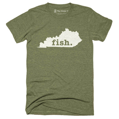 Kentucky Fish Home T-Shirt Outdoor Collection The Home T XXL Army Green