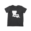 Louisiana Home Kids State T Shirt