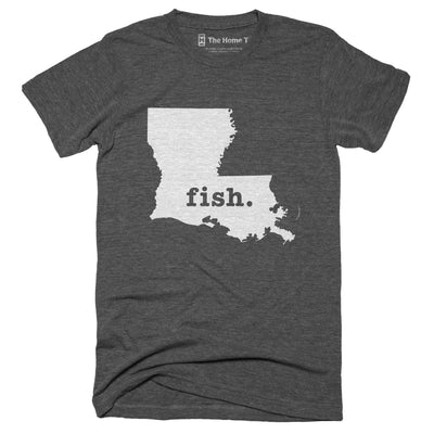 Louisiana Fish Home T-Shirt
