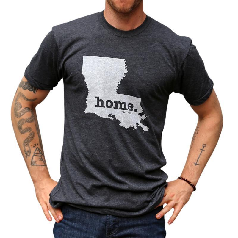 Louisiana Home T Original Crew The Home T XXL Grey