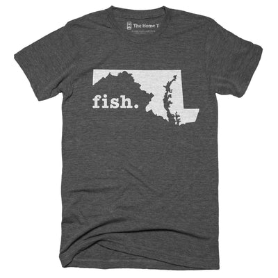 Maryland Fish Home T-Shirt