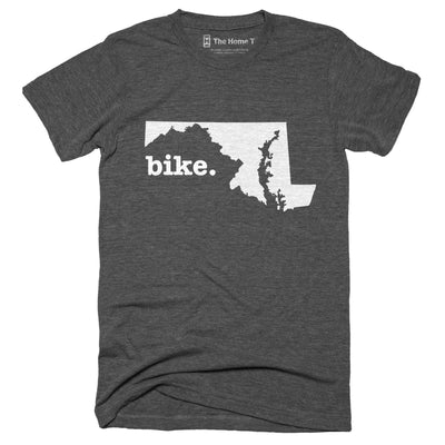 Maryland Bike Home T-Shirt Outdoor Collection The Home T XS Grey
