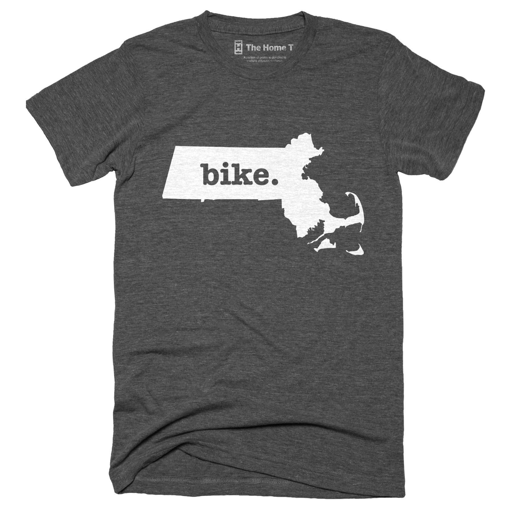 Massachusetts Bike Home T-Shirt