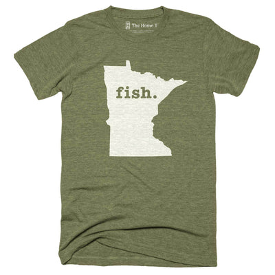 Minnesota Fish Home T-Shirt