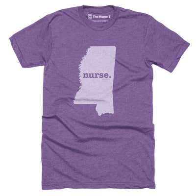 Mississippi Nurse Home T-Shirt