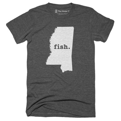 Mississippi Fish Home T-Shirt