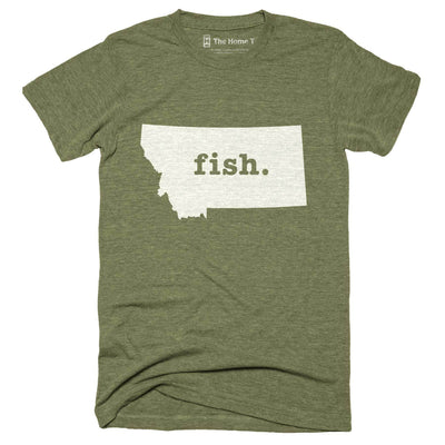 Montana Fish Home T-Shirt