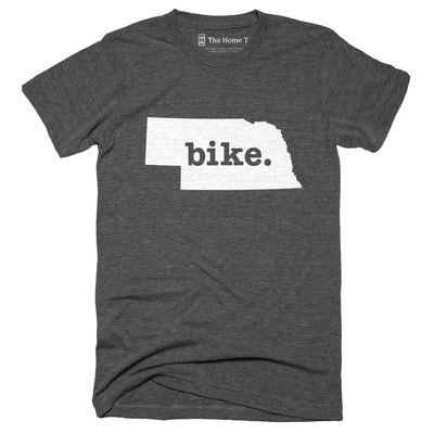 Nebraska Bike Home T-Shirt Outdoor Collection The Home T XS Grey